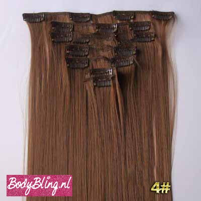 04 BRAZILLIAN STRAIGHT HAIR EXTENSIONS 6#