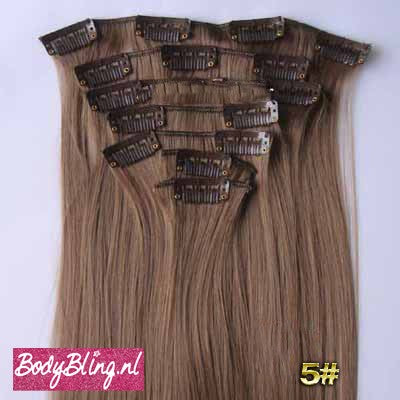 05 BRAZILLIAN STRAIGHT HAIR EXTENSIONS 8#