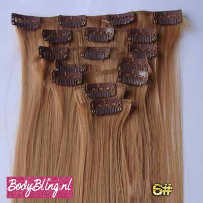 06 BRAZILLIAN STRAIGHT HAIR EXTENSIONS 27#