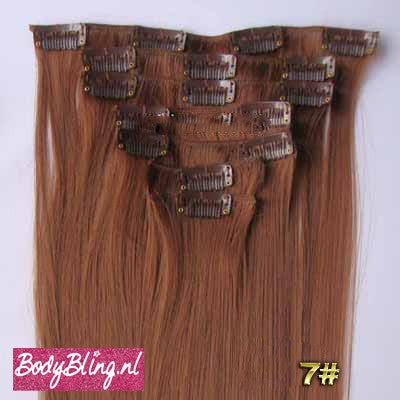 07 BRAZILLIAN STRAIGHT HAIR EXTENSIONS 30#