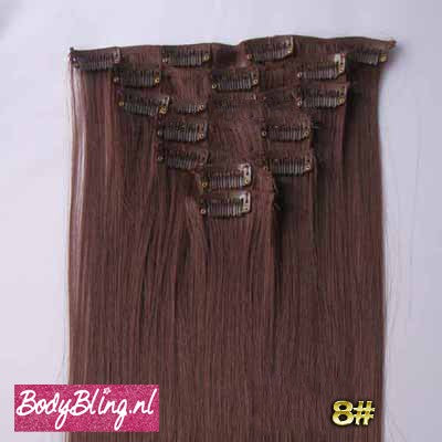 08 BRAZILLIAN STRAIGHT HAIR EXTENSIONS 33#