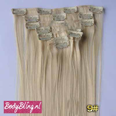 09 BRAZILLIAN STRAIGHT HAIR EXTENSIONS 613#