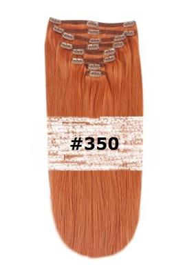 30. CLIP-IN GINGER RED NATURAL RED #350