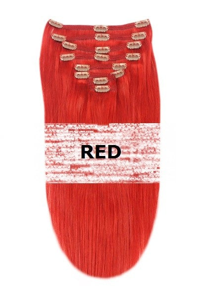 36. DOUBLE WEFT RED