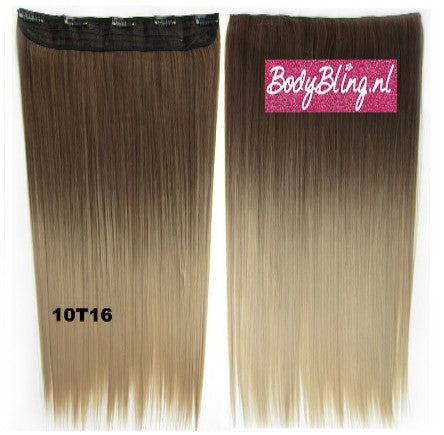 52 BRAZILIAN CLIP IN HAIR EXTENSION 10T16