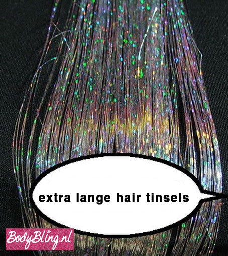 HAIR TINSELS SPARKLING SILVER #2