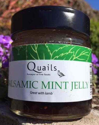 Quails Award Winning Balsamic Mint Jelly