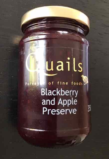 Quails Blackberry & Apple Preserve