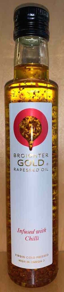 Broighter Gold Rapeseed Oil Infused with Chilli