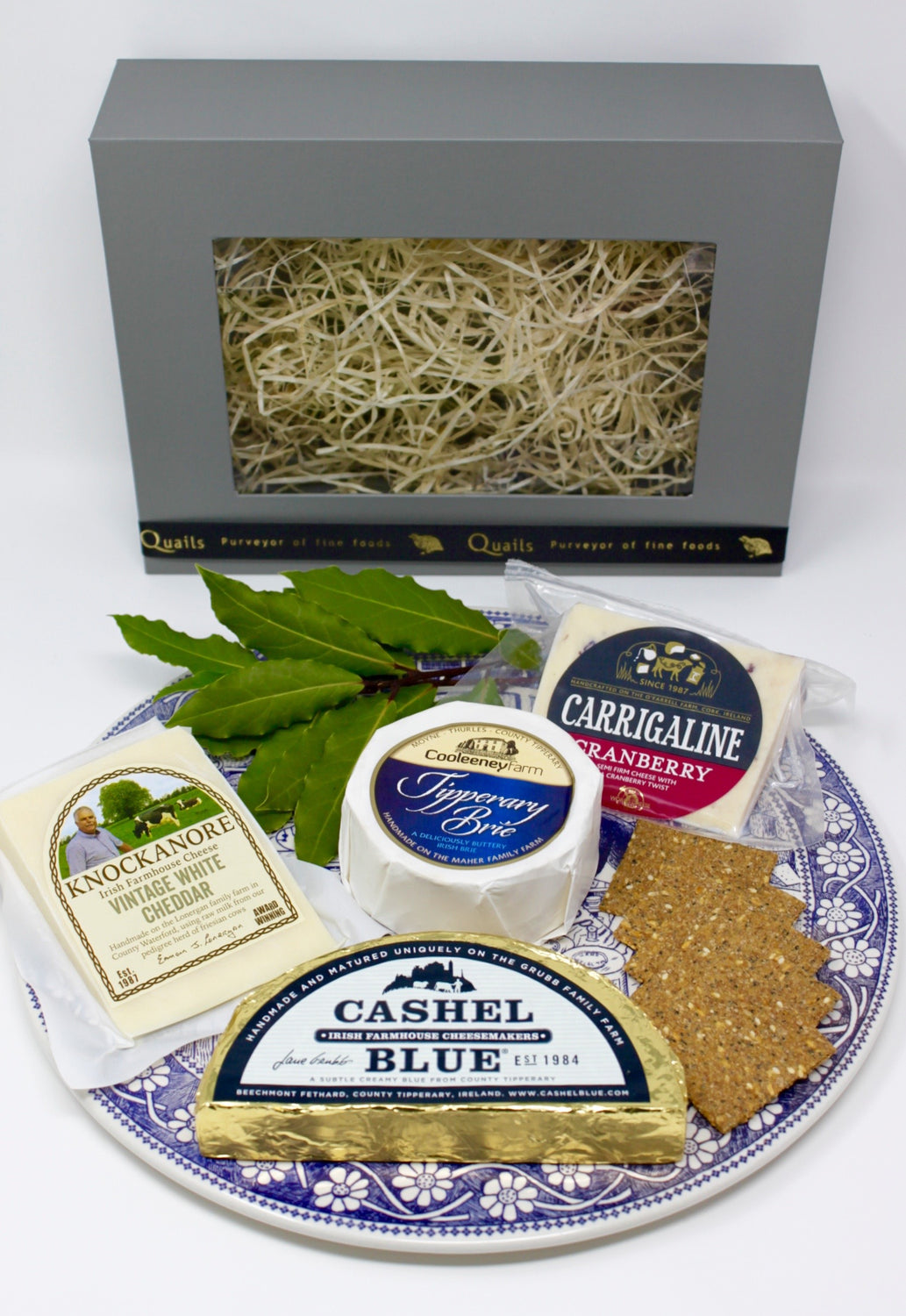 Quails Cheese Box
