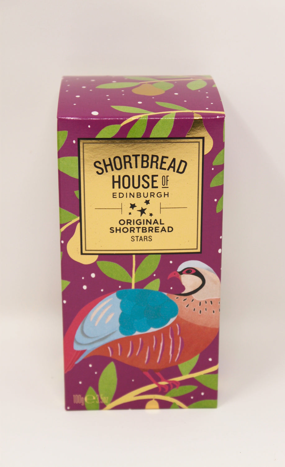 Shortbread House Partridge Shortbread Stars