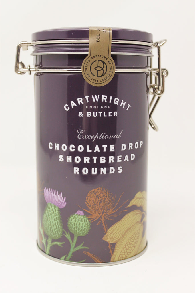 Cartwright & Butler Chocolate Drop Shortbread Rounds