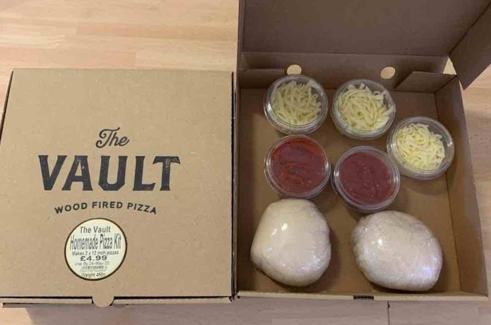 The Vault's Pizza Kit