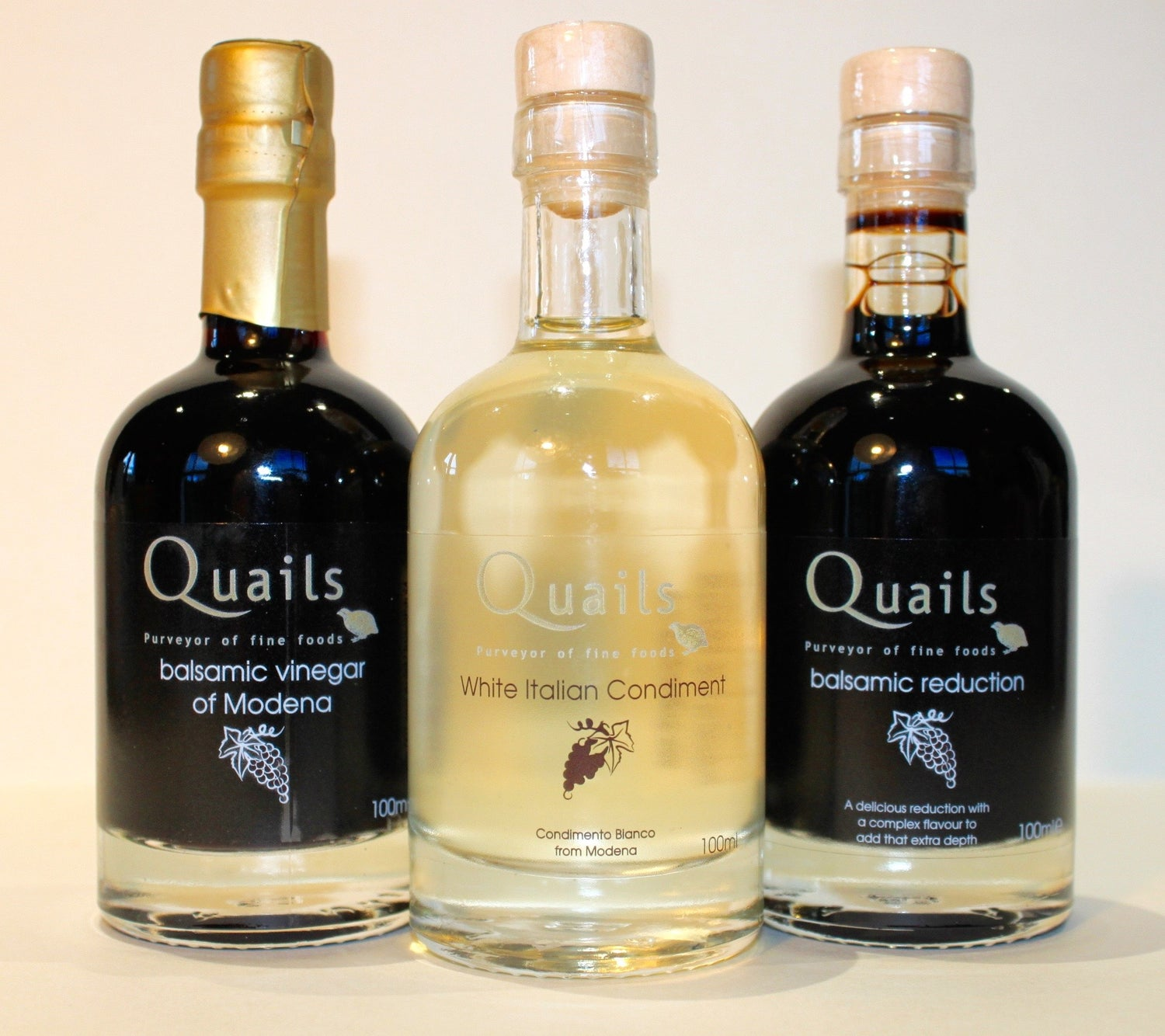 Quails White Italian Condiment