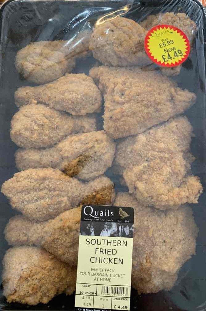 Southern Fried Chicken - 650g