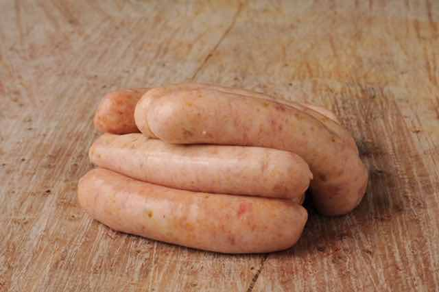 Quails Pork and Mango Sausages - 450g (1lb)