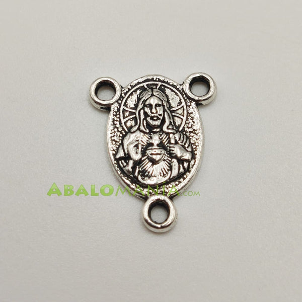 Ave María / Modelo 4 / Color plata / 20mm x 16mm