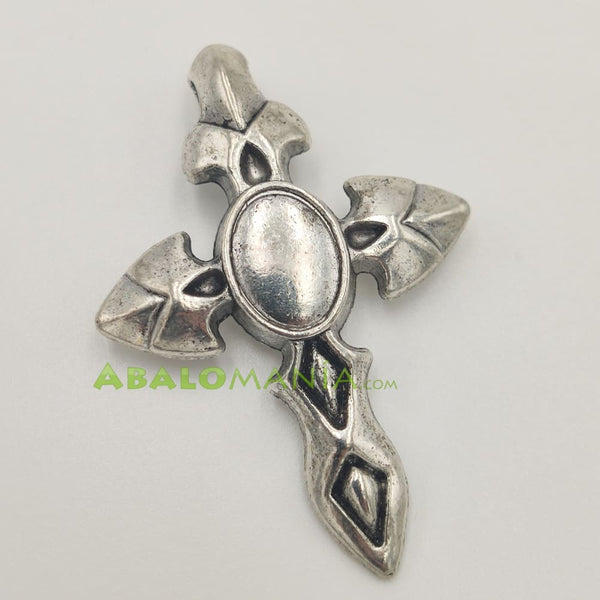 Crucifijo / Modelo 3 / Color plata / 45mm x 30mm