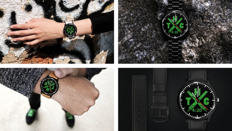 Dope weed watches