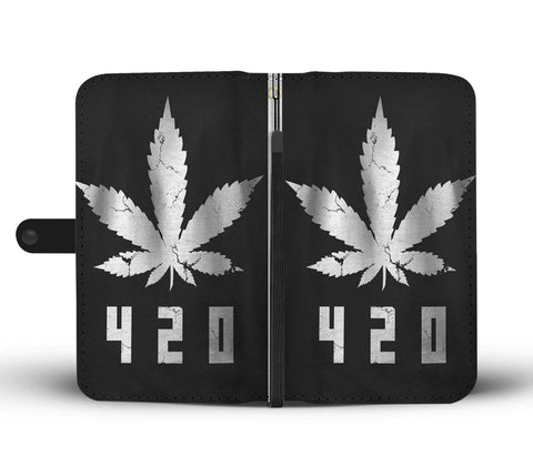 420 Steel Weed Phone Case