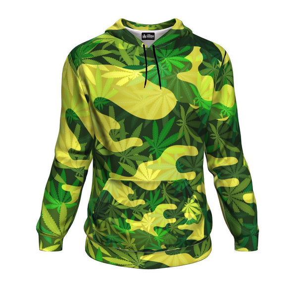 Best Cannabis Camo All-Over 420 Hoodie From The High Council