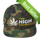 Best Endo OG Camo Weed Snapback From The High Council