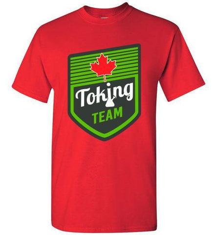 Best The Canadian Toking Team T-Shirt From The High Council