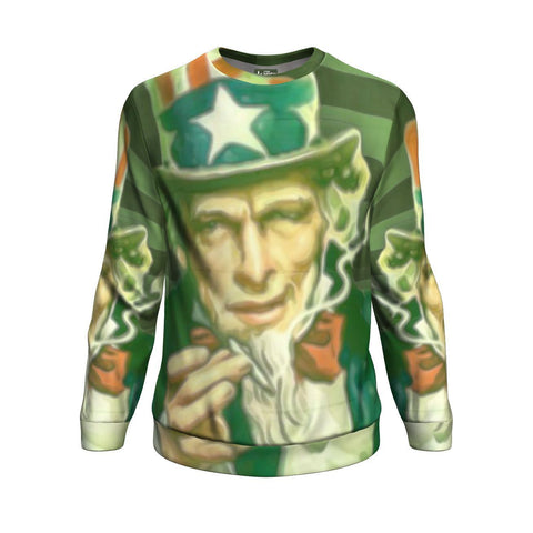 Best Uncle Sam Cannabis Sweater From The High Council