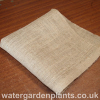 Square of hessian material
