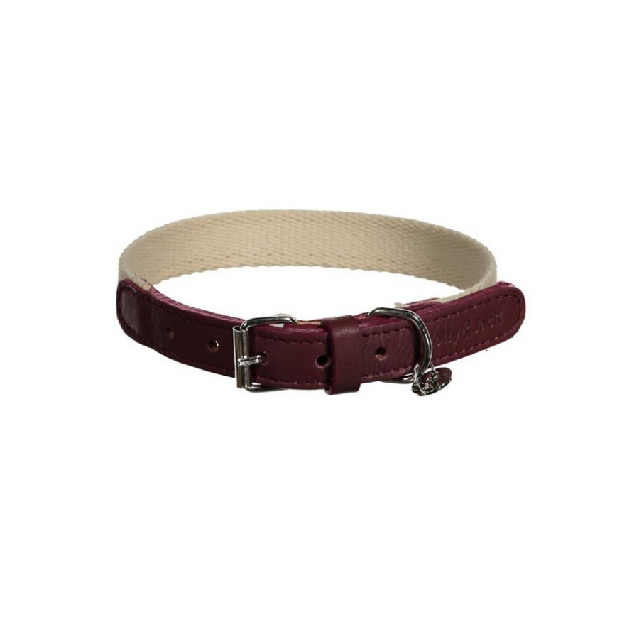 Casual Minimal Collar - Bordeaux