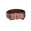 Denim Collar - Brown&Pink
