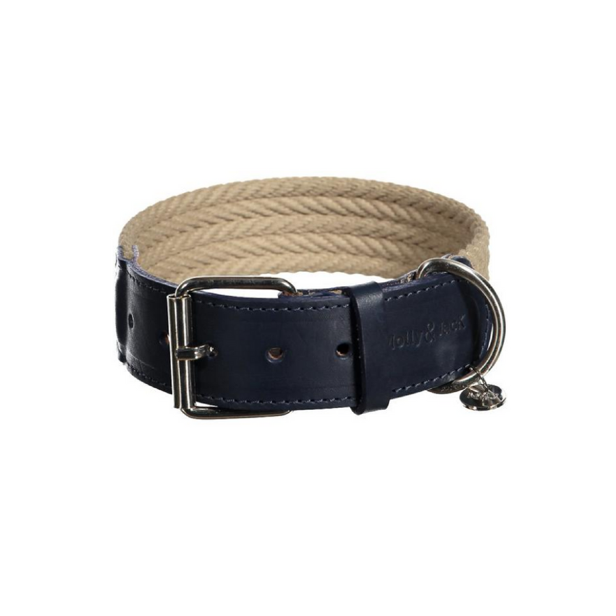Denim Collar - Dark Blue