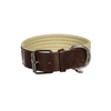 Denim Collar - Dark Brown