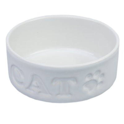 Ceramic cat bowl