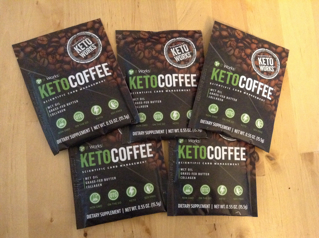 KETO COFFEE    Trial pack of 5
