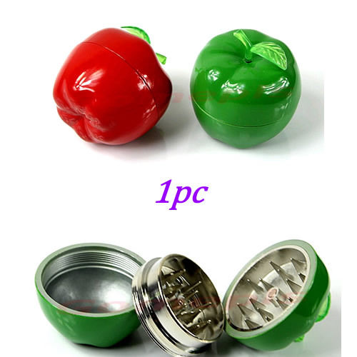 Metal Apple Tobacco Grinder