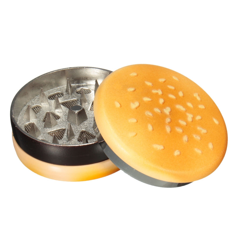 Hamburger Shaped Grinder 420 stealth pipes