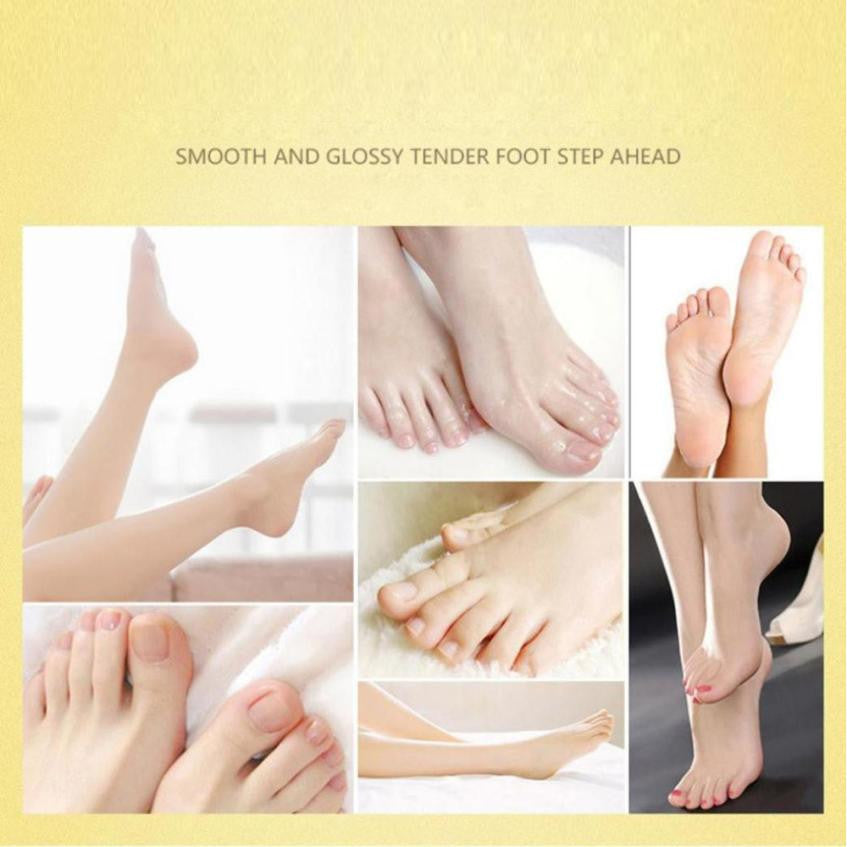 LUGASH Hot Remove Dead Skin Foot Mask Peeling Cuticles Heel Feet Care Anti Aging