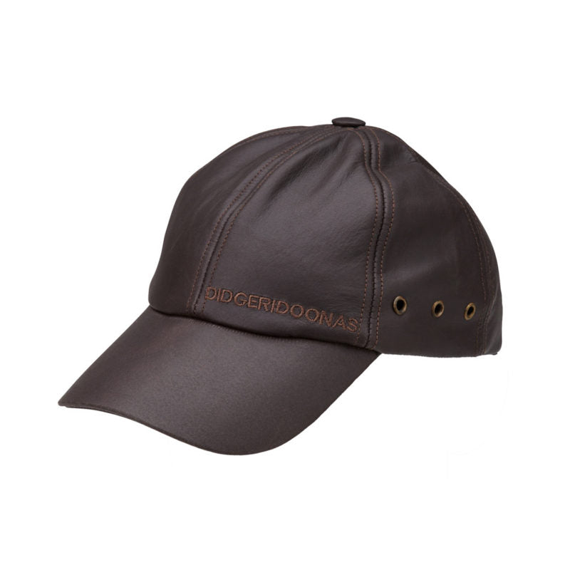 Didgeridoonas Leather Cap