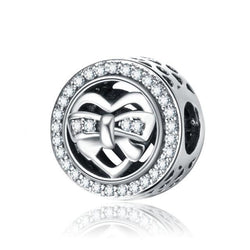 Charm argent 925 noeud