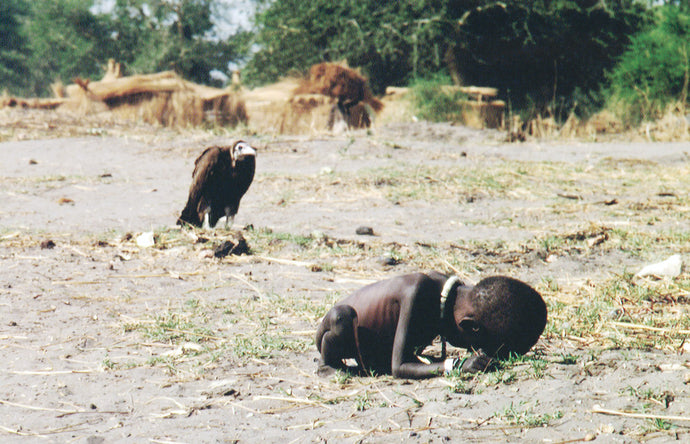 Starving Child and Vulture : The True Story Behind The Controversial Photo