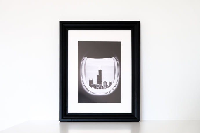 framed print with passe-partout by dreamers and creators