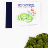 PETER AND PIPA AND THE SLEEPING ALLIGATOR
