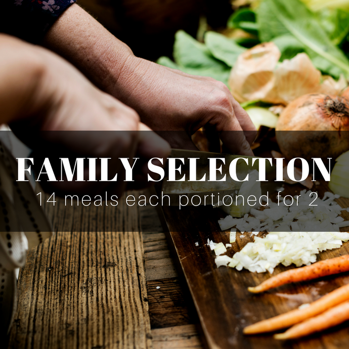 Chefs Weekly Family Box for 4