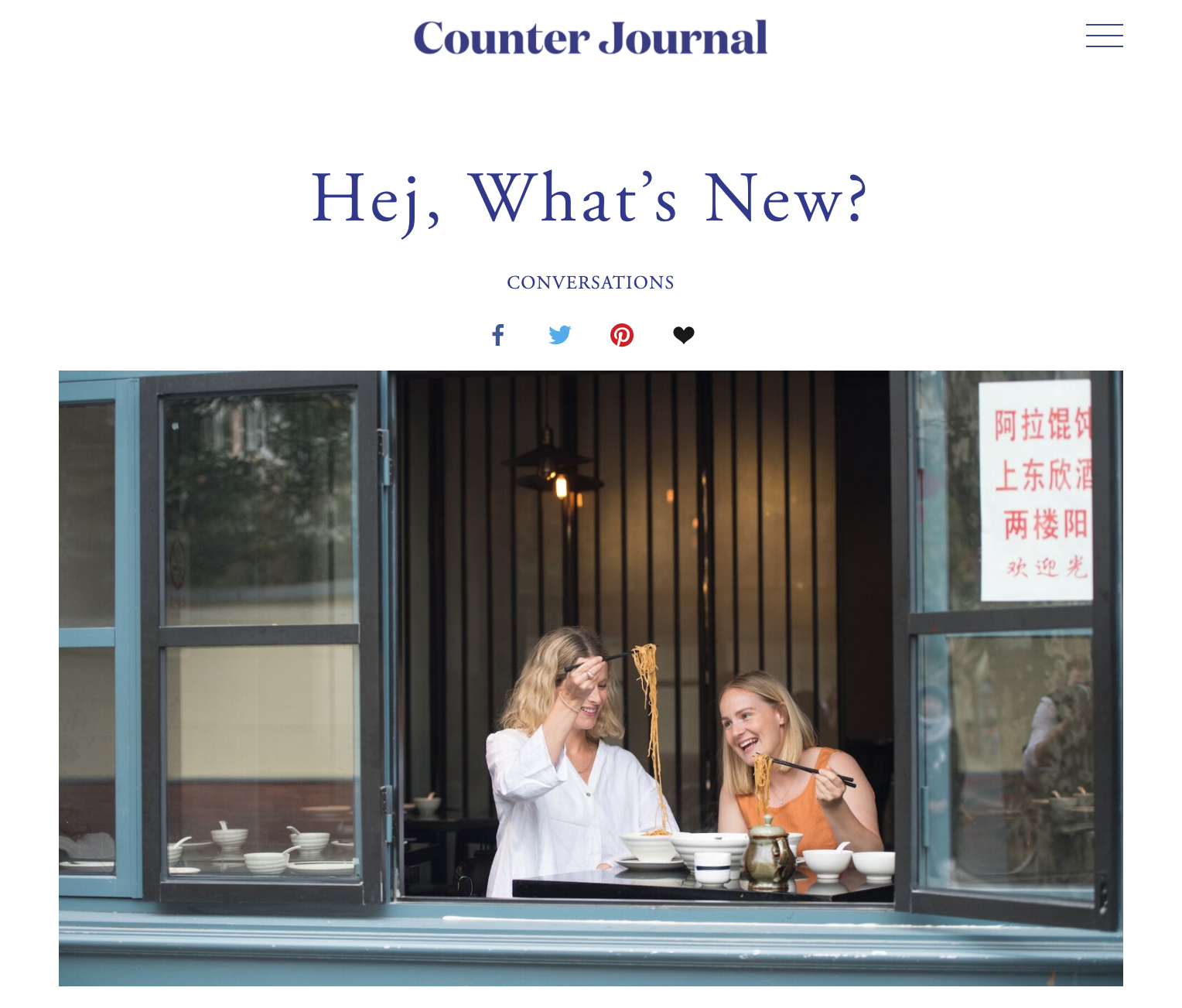 Counter Journal