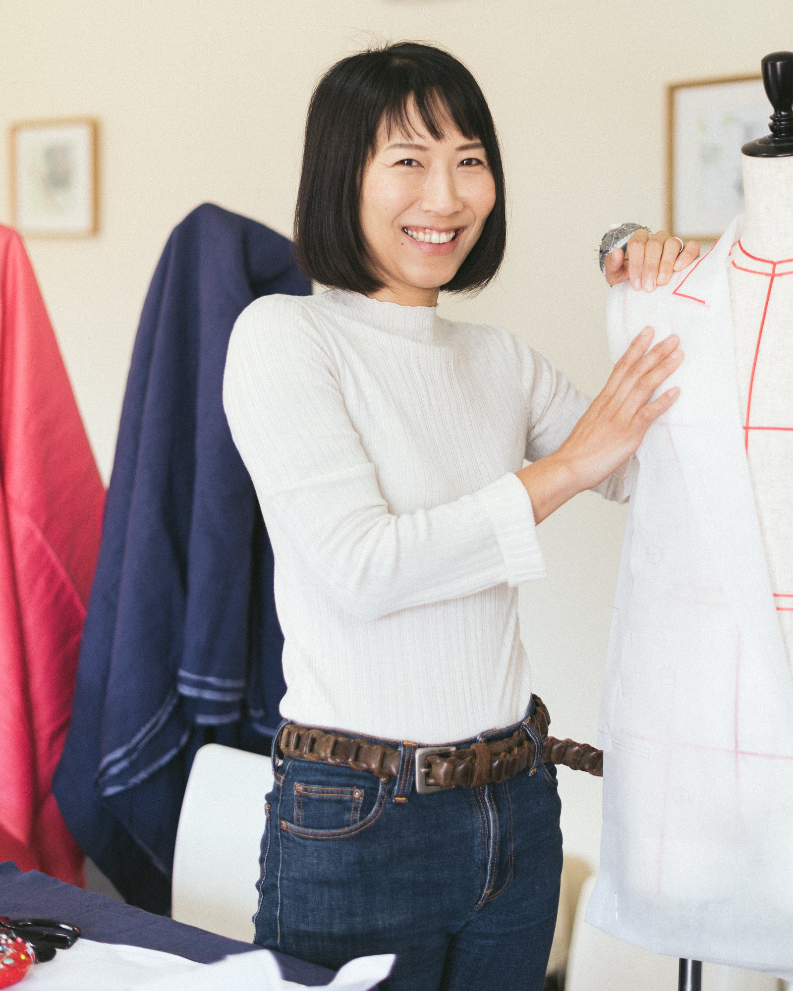 Behind the Seams with Rie Savage - hej hej's perfectionist pattern maker.