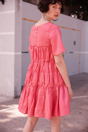 Laugh Out Loud Dress in Watermelon - hej hej