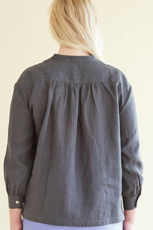 24/7 Shirt in Charcoal - hej hej