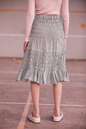 Bing Bang Breakfast Skirt in Seafoam - hej hej