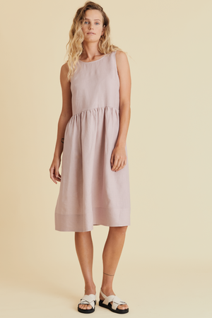 Eat Sleep Repeat Dress in Marshmallow - hej hej